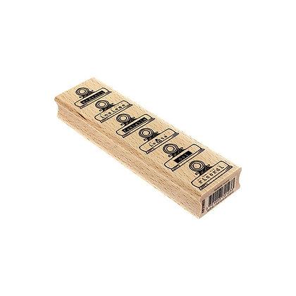 Florileges Design Timbro in legnoMollette dei ricordi