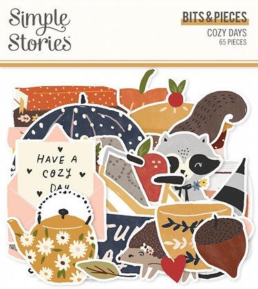 SIMPLE STORIES- COZY DAYS-BITS E PIECES