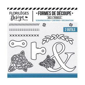 Florileges Design 10 fustelle  PINCES ET VIS collezione A la lettre