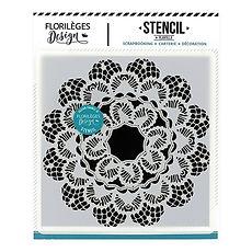 Florileges Design Stencil dentelle -pizzo