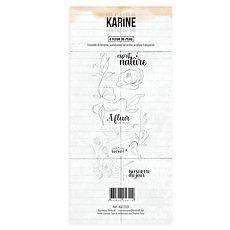 """Les Ateliers de Karine - Timbri clear """" A fleur de peau"""""""