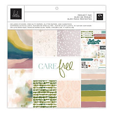 "Heidi Swapp- Paper pack - 12""x12"" - ""Care Free """