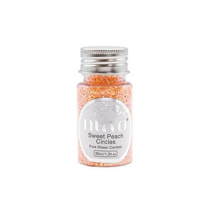 NUVO PURE SHEEN CONFETTI 35 ml SweetPeach Circles