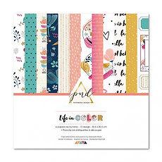 """PaperNova Design Pad collezione """"Life in Color """""""