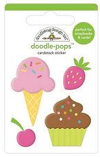 Doodlebug Design Hey Cupcake Doodle pops Sweet Treats
