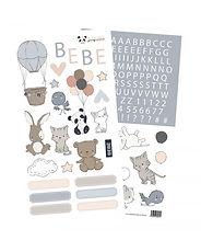 Rita Rita - Pequeno Panda  -Set Stickers