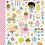Thumbnail: Doodlebug Design Hey Cupcake Doodle pops Mini Icons stickers
