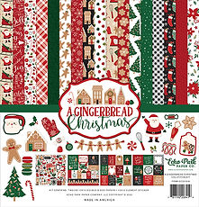 ECHO PARK  12 x 12 A GINGERBREAD CHRISTMAS COLLECTION KIT