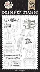 Wizard at Heart  Stamp Set Echo Park  collezione Witches & Wizards