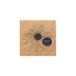 Florileges Design Timbro in legno Fleur de soleil