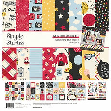 SIMPLE STORIES SAY CHEESE MAIN STREET COLLECTION KIT