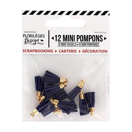 Florileges Design 12  Mini pompons Outremer