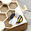 Thumbnail: -PRODOTTO IN PREORDINE -Moda Scrap FUSTELLA BEE SWEET