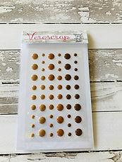 Veroscrap - Enamel Dots Marrone