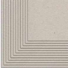 KORA Projects confezione da 12  di cartone pressato laminato 30,5 x 30,5