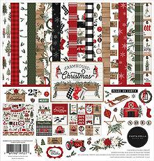 Carta Bella  12 x 12 FARMHOUSE CHRISTMAS