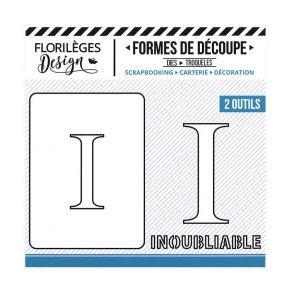 Florileges Design fustelle  lettera I collezione  A la Lettre