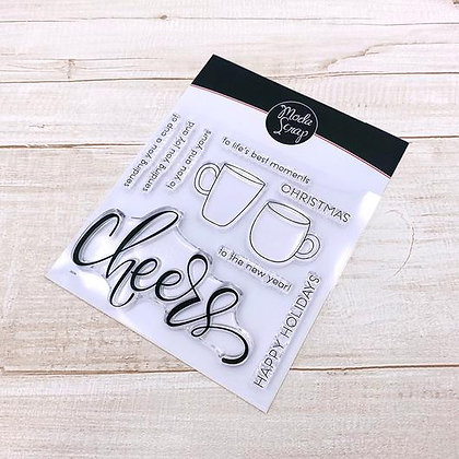 MODASCRAP CLEAR STAMPS CHEERS