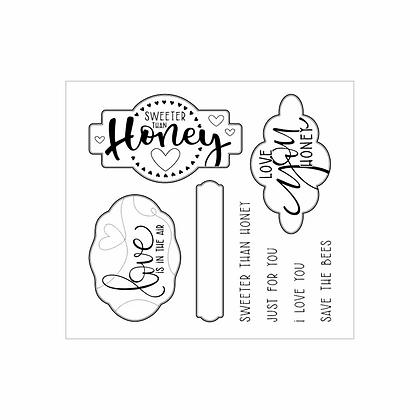 Moda Scrap CLEAR STAMPS-HONEY