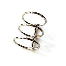 Meccanismo a 3 anelli colore argento