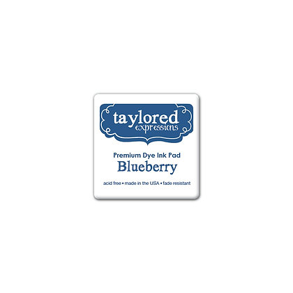 TAYLORED EXPRESSION MINI INK PAD BLUEBERRY