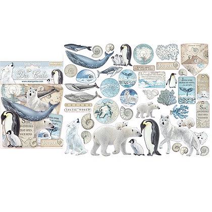 Die cuts Collezione Arctic Antarctic   di Stamperia