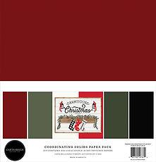 Carta Bella  12 x 12  FARMHOUSE CHRISTMAS BASIC PAD