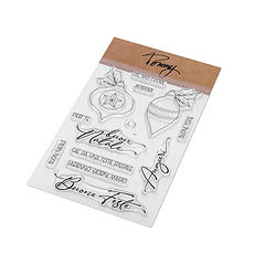 TOMMY CLEAR STAMPS-BUON NATALE