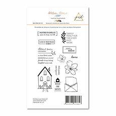 PaperNova  Design timbri clear collezione  Warm Home