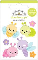 """Doodlebug Design """"Bug babies doodle-pops """""""