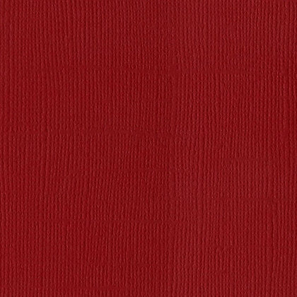 Bazzill mono canvas 30,5 cm x 30,5 cm Blush red dark
