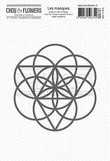 """Chou & Flowers - Stencil Rosace """" Voyage Imaginaire"""""""