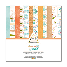 """PaperNova Design - Paper pack  """"Trip to the island """""""