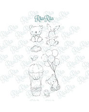 Rita Rita - Pequeno Panda  -Set timbri clear xl