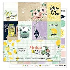 """Florileges Design  Paper pack """" La dolce vita"""""""