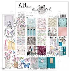 """AB STUDIO scrapbooking pad collezione """" Unexpected"""""""