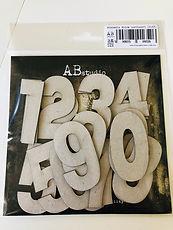AB Studio-  Thick  cardboard Set 22 numeri