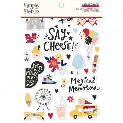 SIMPLE STORIES- SAY CHEESE Main Street  -STICKER BOOK
