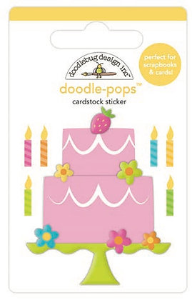 Doodlebug Design Hey Cupcake Doodle pops Make a wish