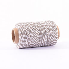 BAKERS TWINE 45 MT MARRONE E BIANCO