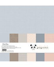 Rita Rita - Pequeno Panda  - Pad 6  carte base 30,5 cm x 30, 5 cm