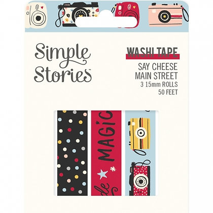 SIMPLE STORIES- SAY CHEESE Main Street  -WASHI TAPE