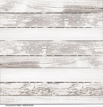 """Veroscrap - Foglio singolo """" White Wood """""""
