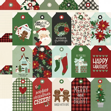 SIMPLE STORIES-JINGLE ALL THE WAY - TAGS