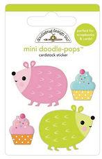 Doodlebug Design Hey Cupcake Doodle pops Hedge Hugs