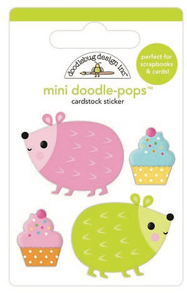 Doodlebug Design Hey Cupcake Doodle pops Hedge Hugs