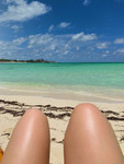 Chilling at Gilliam Bay