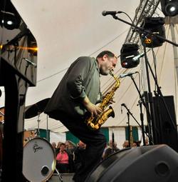 Stage Lighting Swanage Jazz Festival
