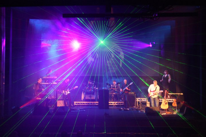 Stage Lighting for UK Pink Floyd