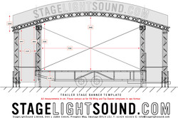 Banner Plan for Trailer Stage